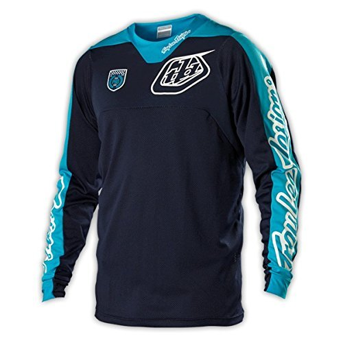 Troy Lee Designs SE Pro Corse Jersey - Large/Navy/White by Troy Lee Designs (Image #1)