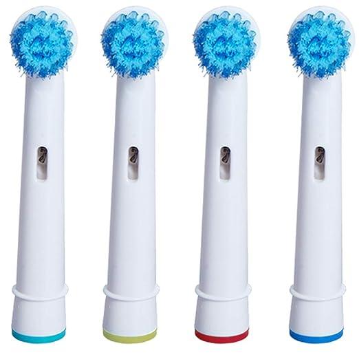 Cabezales de cepillo de dientes de cerdas suaves, cerdas ...