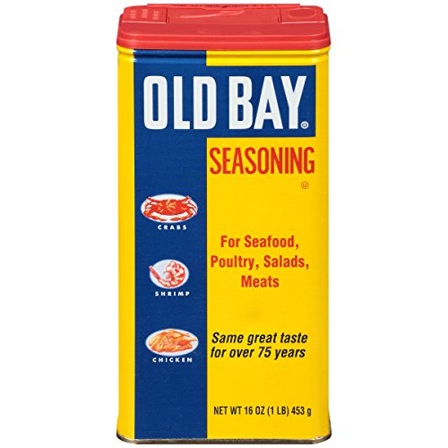 OLD BAY One Pound Can Seafood Seasoning, 16 oz (Bay Seafood Seasoning)