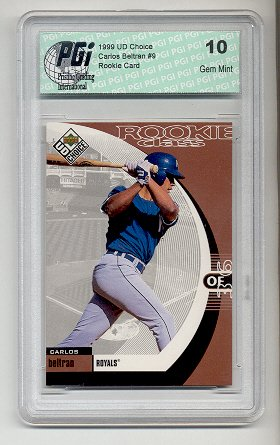 Amazon Com 99 Upper Deck Choice Carlos Beltran Rookie Card