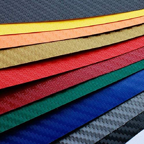 Carbon Fiber Vinyl Film Car Wrap Roll Adhesive Sticker Decal Sheet 127x10cm New