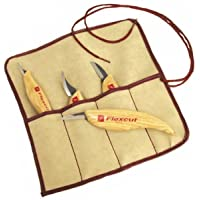 Flexcut FLEXKN100 Cuchillo a Lama Fissa,Unisex - Adultos