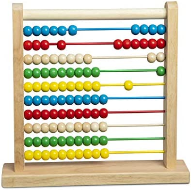 Abacus Toy Baby Wooden Abacus Counting Number Frame Beads Kid Cute Animal Early Education Kid Abacus Counting Calculator Bracket Rack Math Activity Tools Varicoloured Wood Toys