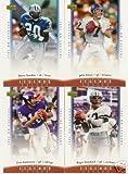 2006 Upper Deck NFL Legends Football Cards Complete 100 Card Set