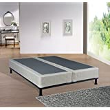 Spinal Solution 8-Inch Split Foundation Box Spring for Mattress, Sensation Collection,Queen Size