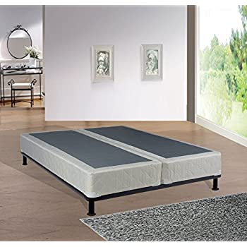 Spring Solution  King  Size Fully Assembled Split Box Spring for Mattress, Hollywood Collection