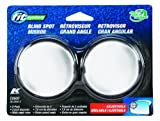 Fit System C0600 Driver/Passenger Side Replacement Spot Mirror - Pack of 2
