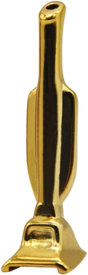 aiyuyu Aluminum Straw Metal Tube Snuff Straw Vacuum Style, Sniffer Snorter Straw, Sniffer Straw-Sniffer Tube (Gold)