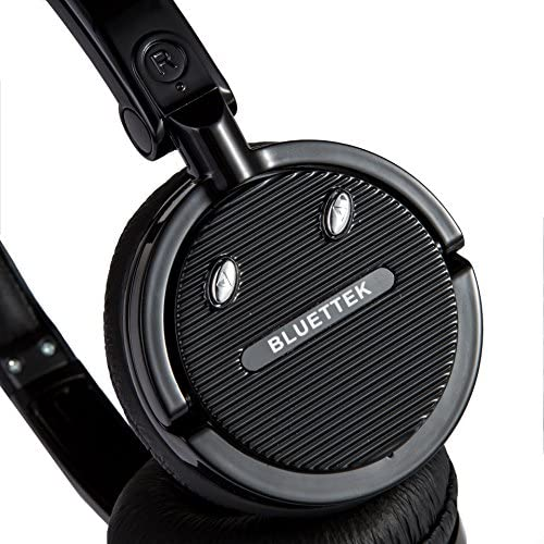 BLUETTEK Stereo Bluetooth Headset With Boom Microphone and Noise Canceling Technology, Wireless Bluetooth Headphones For Mobile Phones iPhone 6 Plus,
