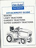 1980's International Cub Cadet Tractor Attachment Power Equipment Manual