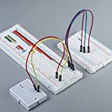 MCIGICM 10pcs Breadboard 830 Point Solderless