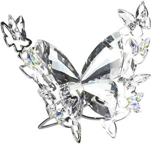 SWAROVSKI Aurore Boreale Butterfly Figurine, Small
