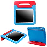 HDE Case for iPad 2 3 4 - Kids Shock Proof Heavy Duty Impact Resistant Protective Cover Handle Stand for Apple iPad 2nd 3rd 4th Generation Tablet (Blue & Red)