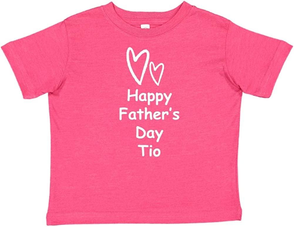 Toddler//Kids Short Sleeve T-Shirt Two Hearts Mashed Clothing Happy Fathers Day TIO