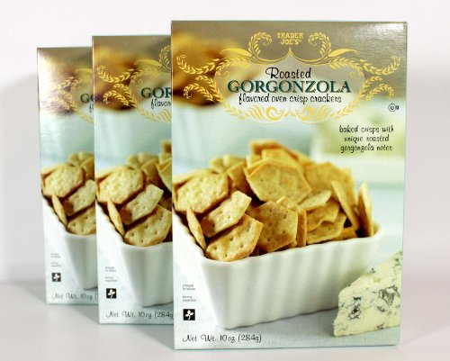 Trader Joes Roasted Gorgonzola Crackers
