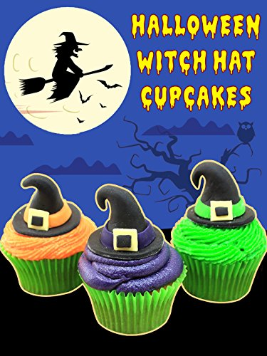 Halloween Witch Hat Cupcakes -