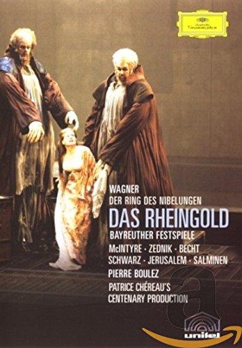 Price comparison product image Wagner - Das Rheingold / McIntyre, Zednik, Jerusalem, Salminen, Becht, Schwarz, Boulez, Bayreuth Opera (Boulez Ring Cycle Part 1)