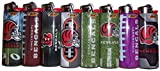 Bic Lighters Cincinnati Bengals NFL Officially Licensed Full Size 8pc Set
