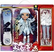 RAINBOW HIGH Winter Break Skyler Bradshaw – Blue Winter Break Fashion Doll and Playset with 2 Complete Doll Ou