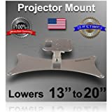 """Projector-Gear Projector Ceiling Mount for EPSON EX7200 with 13"""" to 20"""" Extension"""