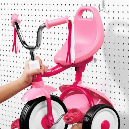 Radio Flyer Ready-To-Ride Folding Tricycle (Pink) by Radio Flyer (Image #5)