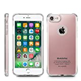 MobilePal Qi Wireless Charging Case for iPhone 7 and iPhone 6(s) [New 2017 Model] (Rose Gold)