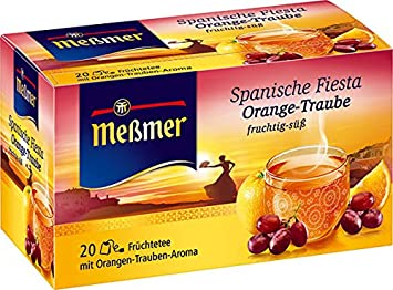 Amazon com : Meßmer Spain Fruit Tea (Spanischer Cataluña