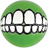 ROGZ Fun Dog Treat Ball in various sizes and colors, Large, Lime