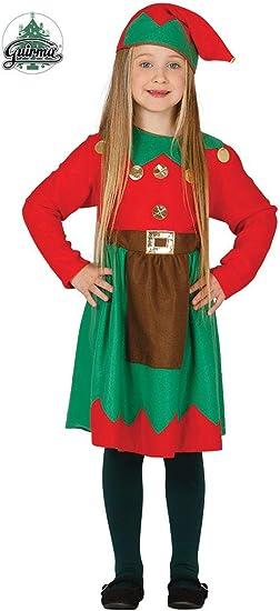 Disfraz de elfa infantil 10-12 años: Amazon.es: Juguetes y juegos