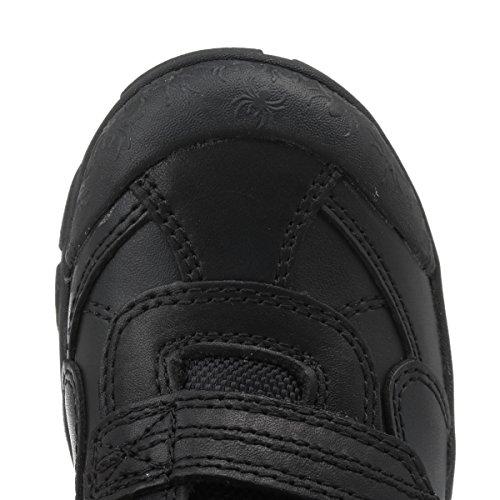 Start-rite Enfants Noir Arachnid Cuir G Width Chaussures
