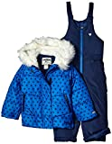 OshKosh Girls Printed Heavey Weight Winter Coat and Snow Pants