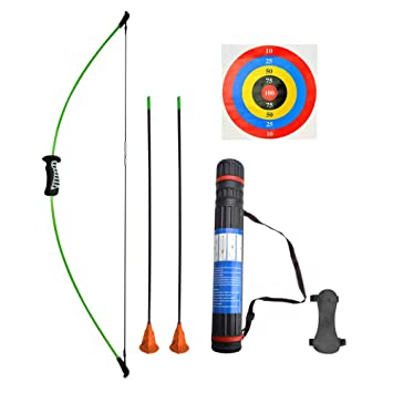 Outdoor Youth Recurve Bow and Arrow Set Children Junior Archery Training Toy