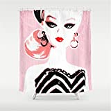 Best Barbie Towel Sets - Weeya Classic Barbie Shower Curtain 60x72 inch Review