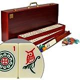 """YMI American Mahjong (Mah Jongg Mahjongg) 166 Tiles Set w/ Racks """"The Classic"""""""