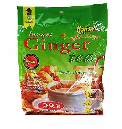 Honsei Instant Ginger Honey Tea  18G/0.63oz- Product of Sing