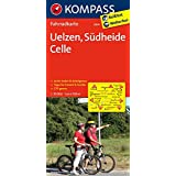 Uelzen - Südheide - Celle: Fahrradkarte. GPS-genau. 1:70000 (KOMPASS-Fahrradkarten Deutschland, Band 3014)