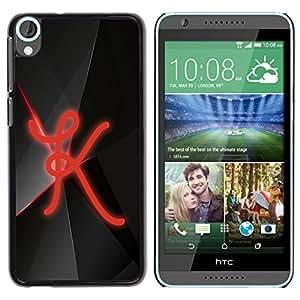 LECELL -- Funda protectora / Cubierta / Piel For HTC Desire 820 -- K --