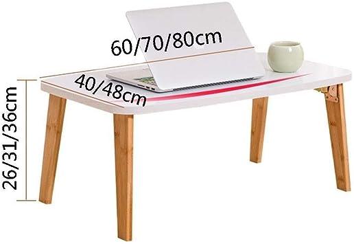 Mesa de Ordenador portátil con Patas Plegables, para desayunar ...