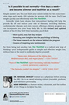 The FastDiet - Revised & Updated: Lose Weight, Stay Healthy, and Live Longer with the Simple Secret of Intermittent Fasting by Atria Books