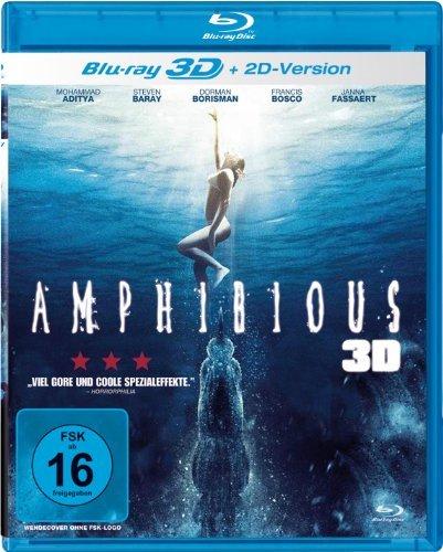 Amphibious Creature of the Deep ( Amphibious 3D ) (3D & 2D) [ Blu-Ray, Reg.A/B/C Import - Germany ]