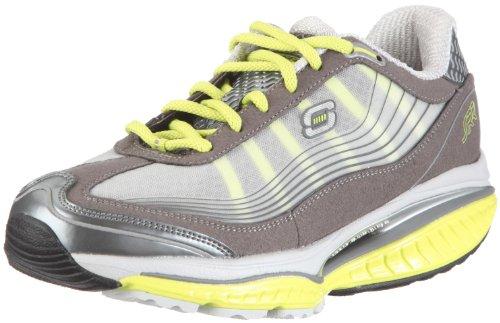 Skechers Resistance Runner Resistor Womens Sneakers Charcoal/Lime