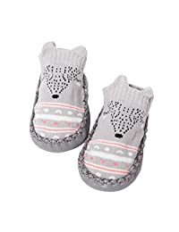 Baby Girl Boy Fuzzy Socks VEKDONE Toddler Photography Props Cute Slipper Non Skid Socks