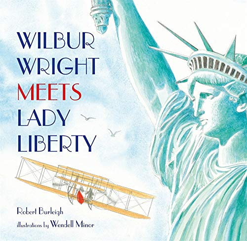 Book Cover: Wilbur Wright Meets Lady Liberty