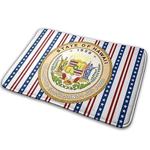 - CAOBOO doormats, Outdoor Door Mat, Kitchen Bathroom Floor Carpet Mat, Seal of The State of Hawaii Entrance Rug Indoor/Outdoor Door Shoe Scraper Entryway,Garage and Laundry Room Floor Mat,15.7X23.6in