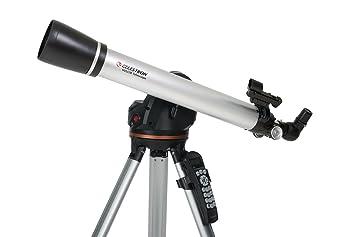 Celestron 22050 lcm 60 computerised refractor telescope: amazon.co