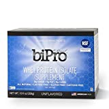 BiPro 100% Whey Protein Isolate, 14 Single Serve Packets., Unflavored, All Natural, Sugar-Free, Lactose-free, Gluten-free, 80 calories Review