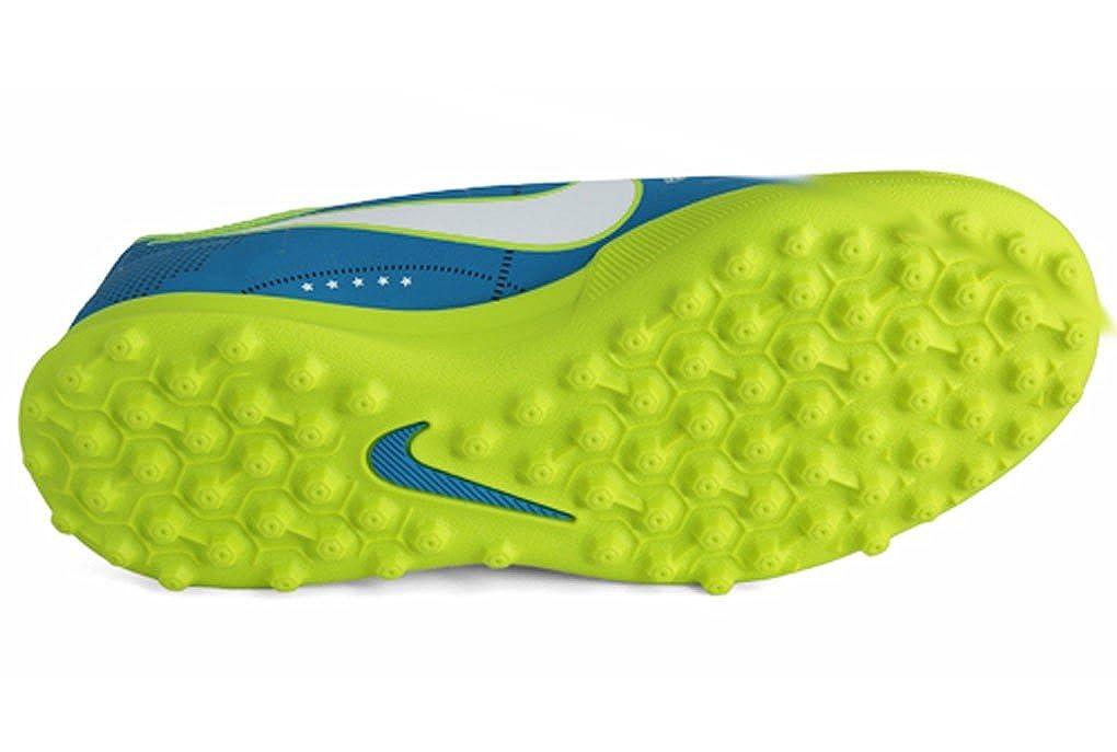e37625ba72c43 NIKE MERCURIAL VORTEX NEYMAR TURF JUNIOR 921497-400 - Scarpe da calcetto  ragazzo azzurro  Amazon.it  Scarpe e borse