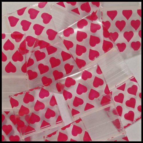 Small Mini Ziplock 100 5858 Designs Designer Bags You Choose Print 5/8
