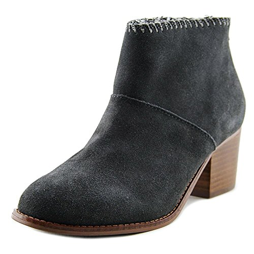 TOMS Women's Vachetta Leather Leila Booties in Sandstorm