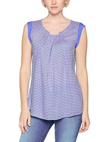 OF Bleu Print BENETTON Blue Tile Femme Sleeveless UNITED Blouse COLORS U5qxpCwn6S